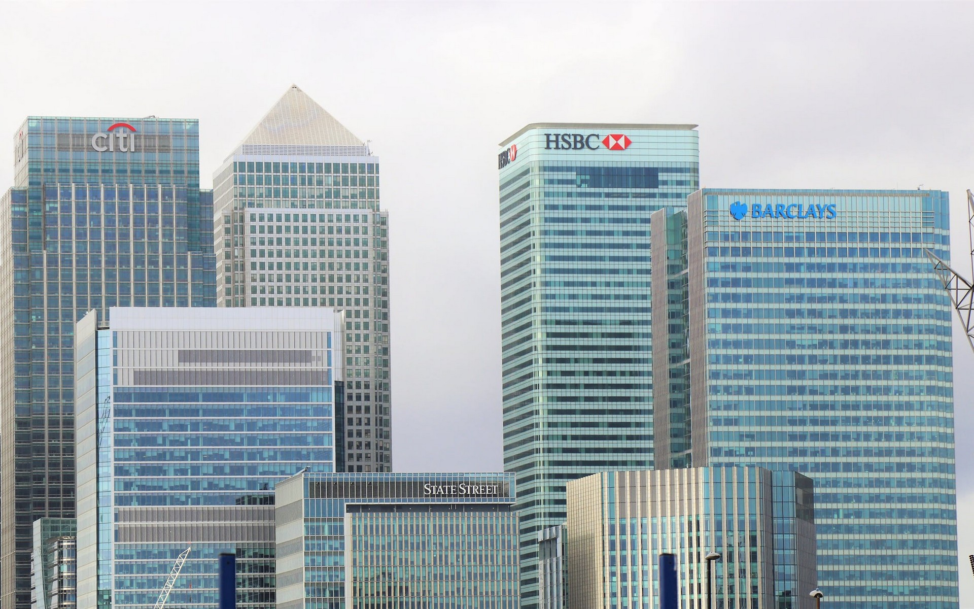 Skyline image of Canary Wharf E14