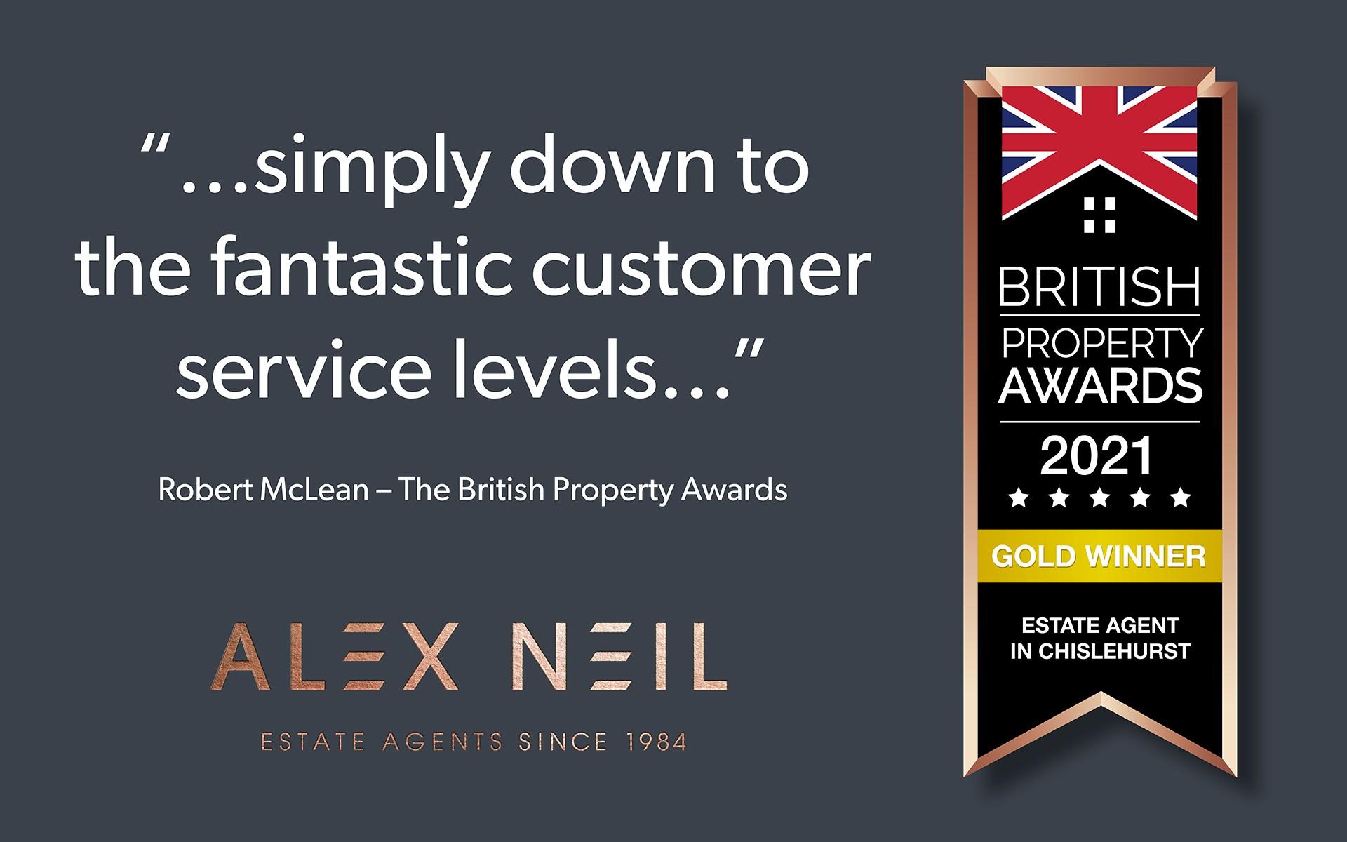 Alex Neil's British Property Award Chislehurst