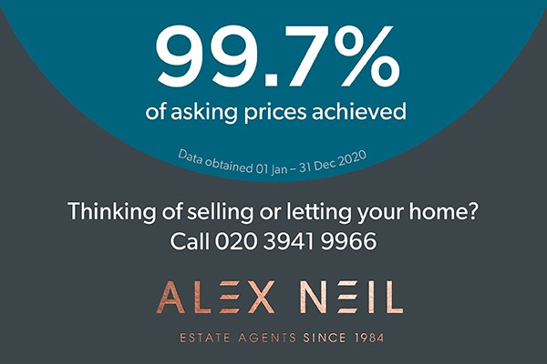 Sellers achieve over 99 percent of asking prices