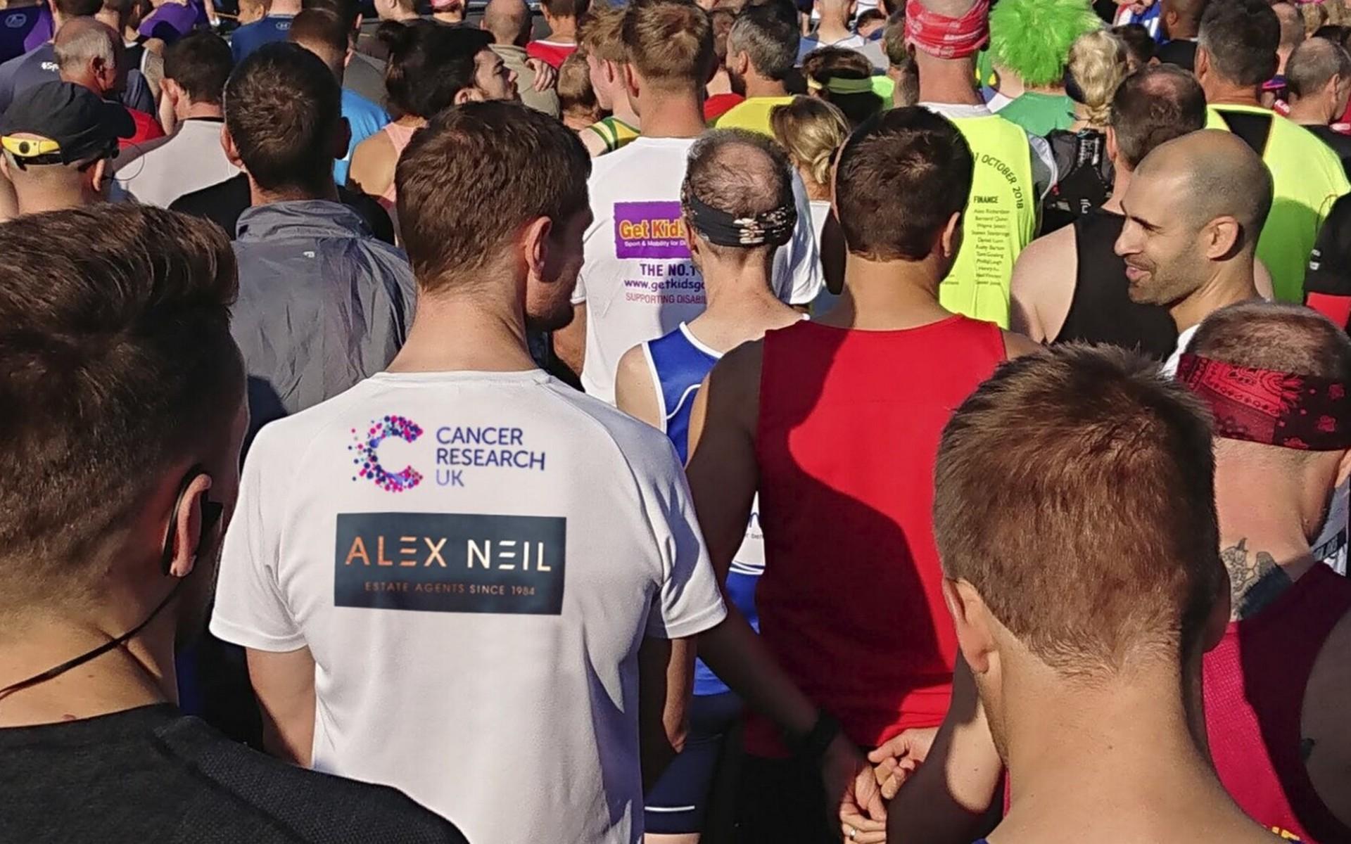Alex Neil's Cancer Research Running Team