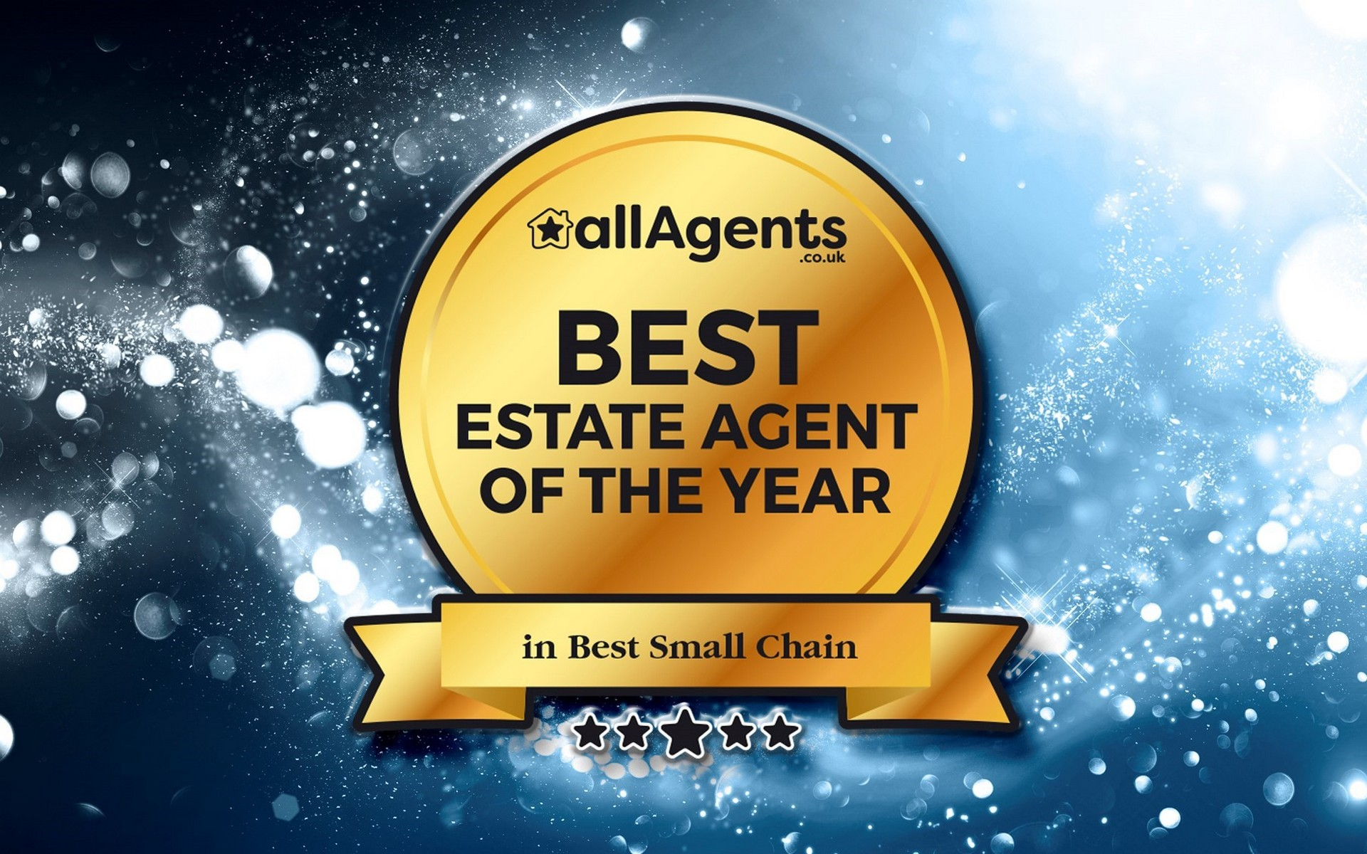 allAgents Award to Alex Neil for Best Estate Agents of the year