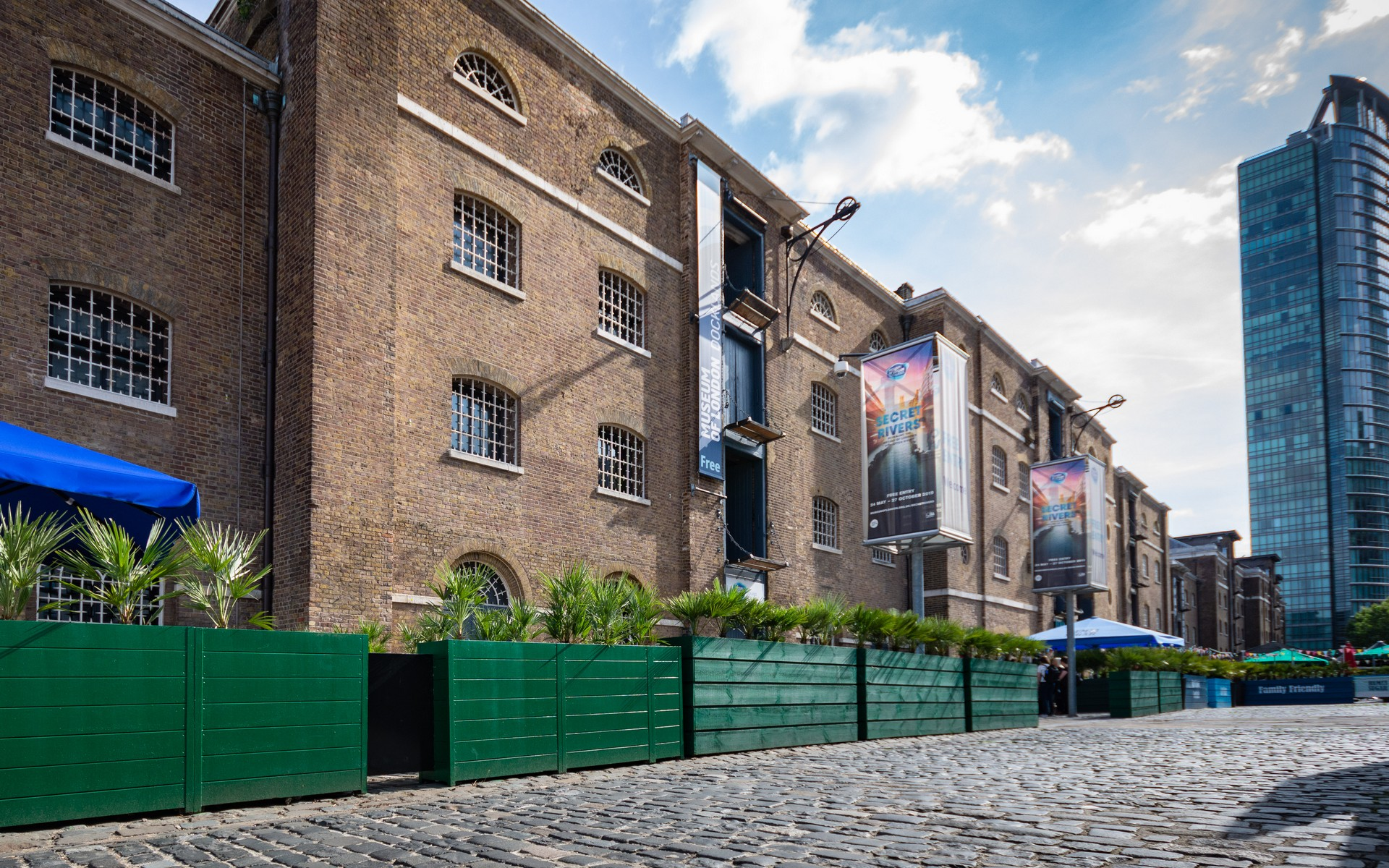 The Museum of London Docklands, Canary Wharf E14