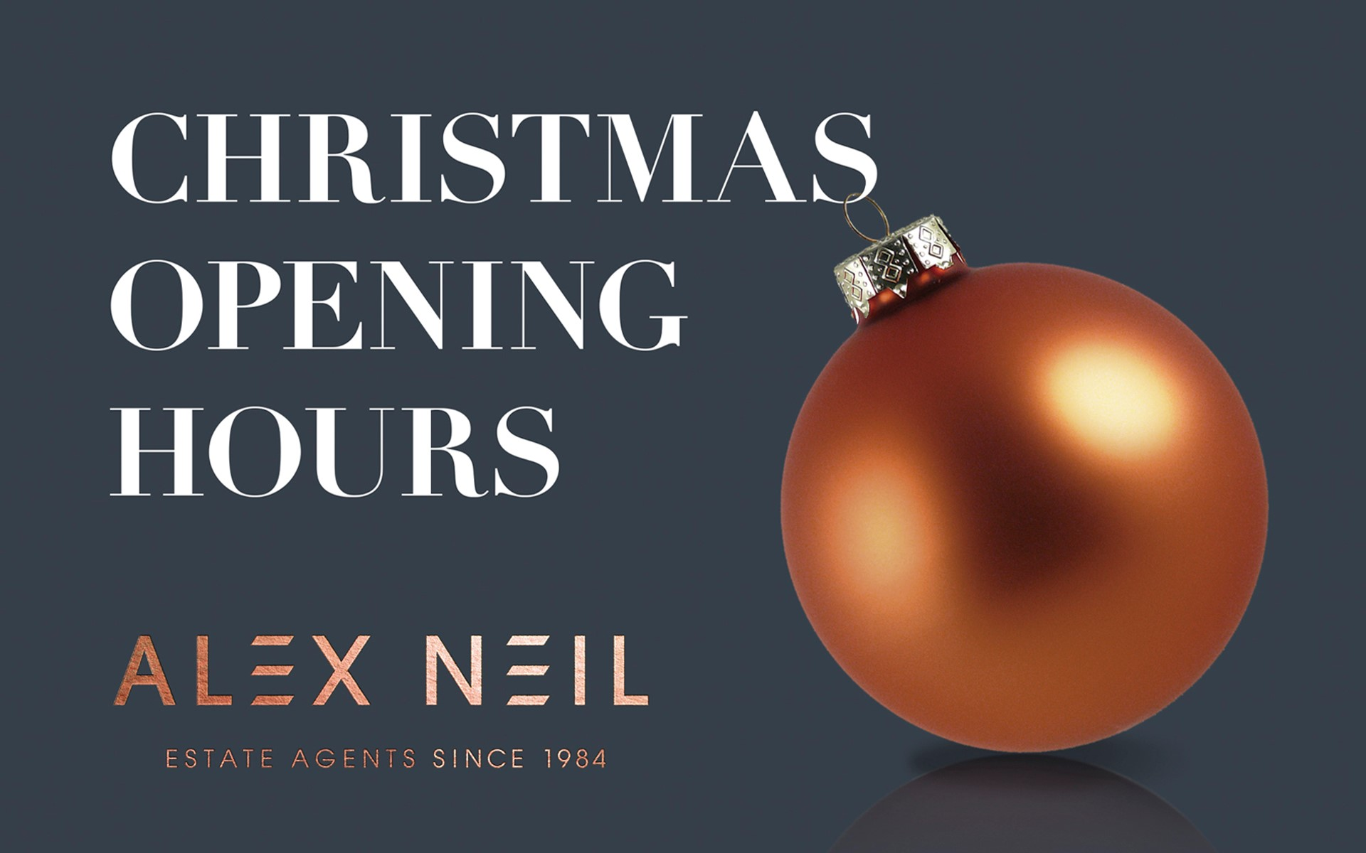 Alex Neil Christmas Decoration