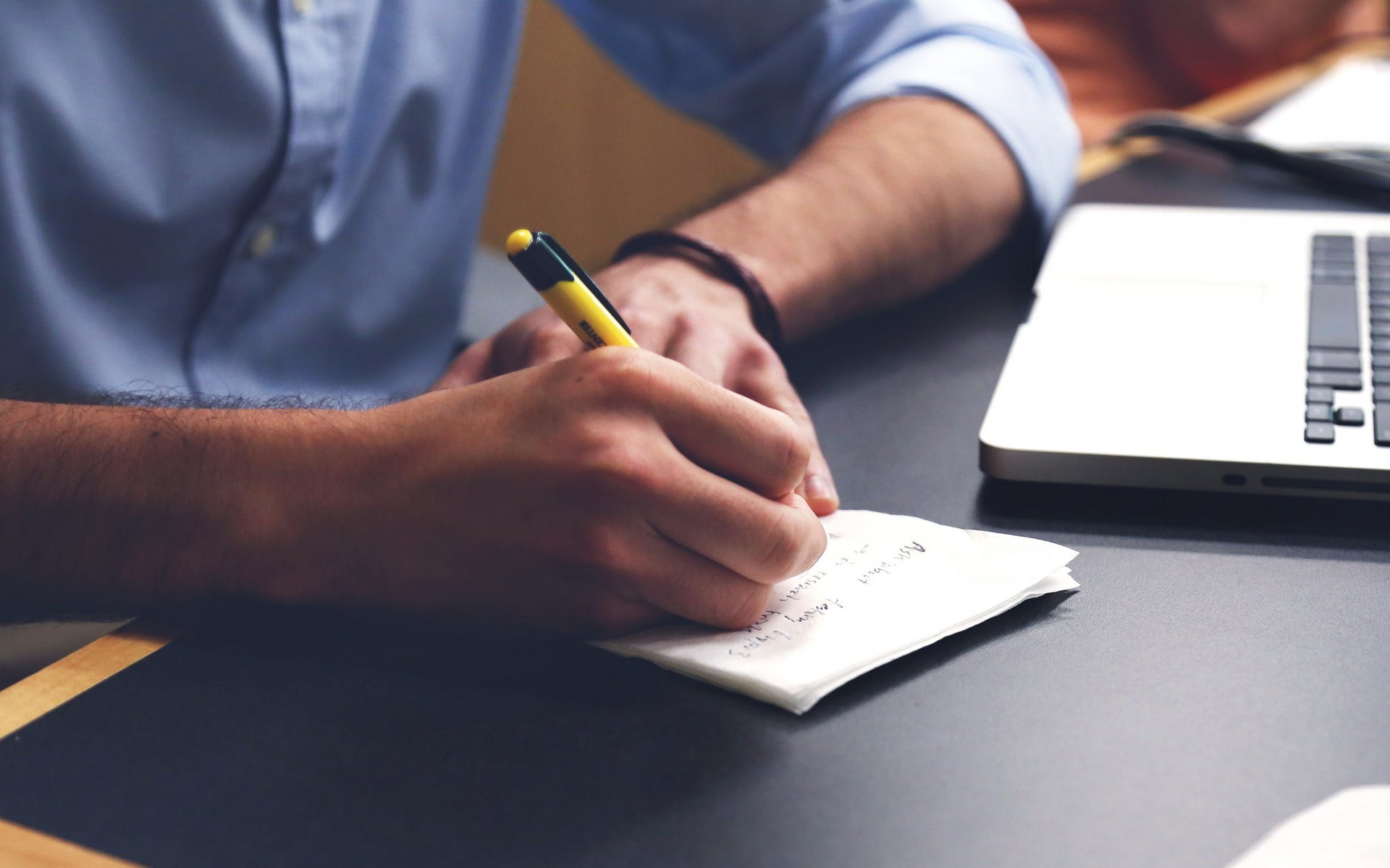 Person researching property legislation