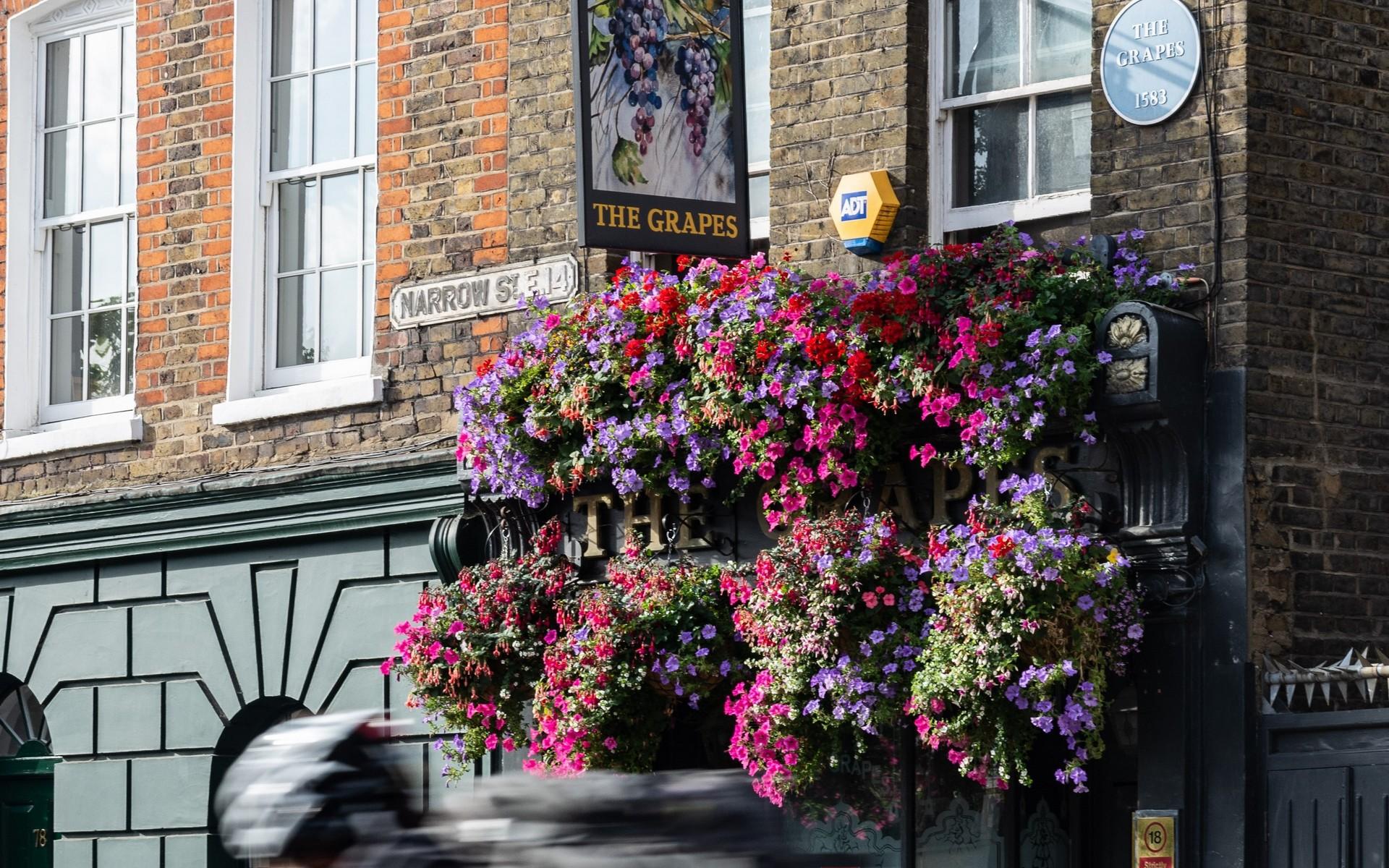 The Grapes Public House, Narrow Street, Limehouse E14