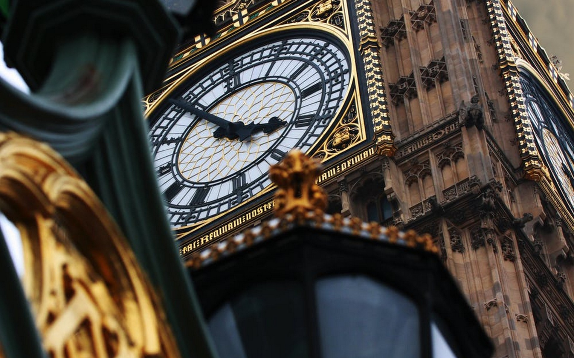 Big Ben Westminster marks time passing by