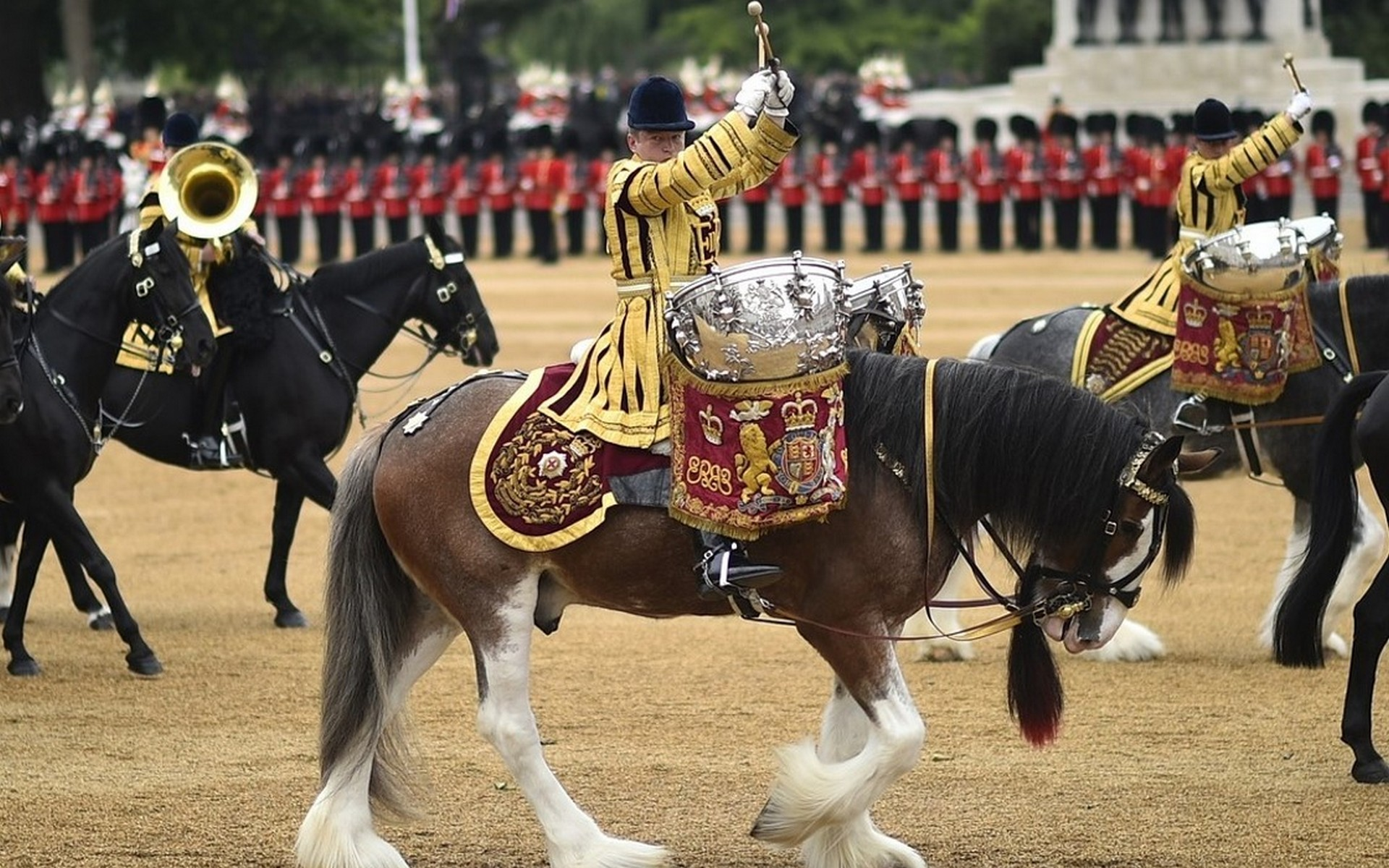 Trooping of the Colour, London in June