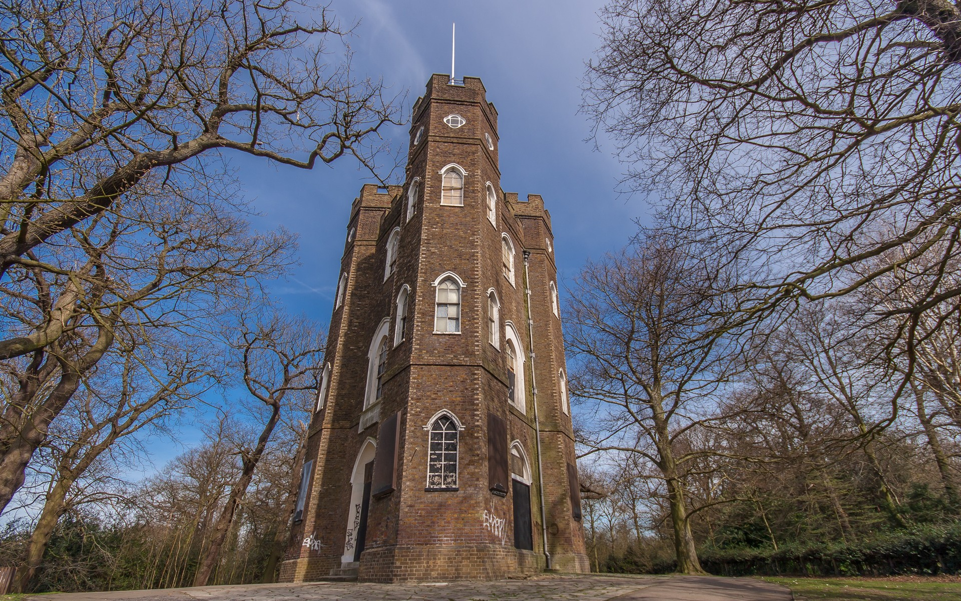Severndroog Castle, Shooters Hill, London