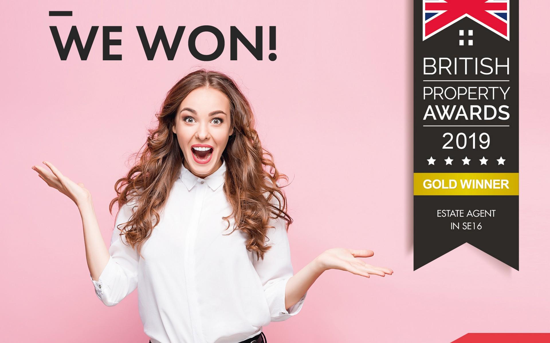 Image celebrating Alex Neil's British Property Award