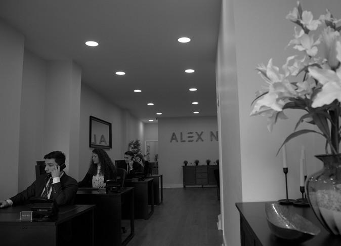Accounts Office Interior