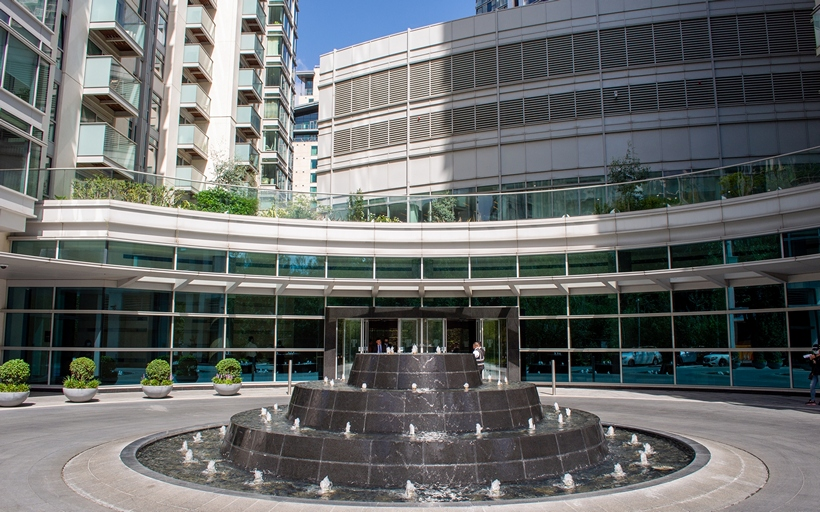 Pan Peninsula Water Feature and Fountain